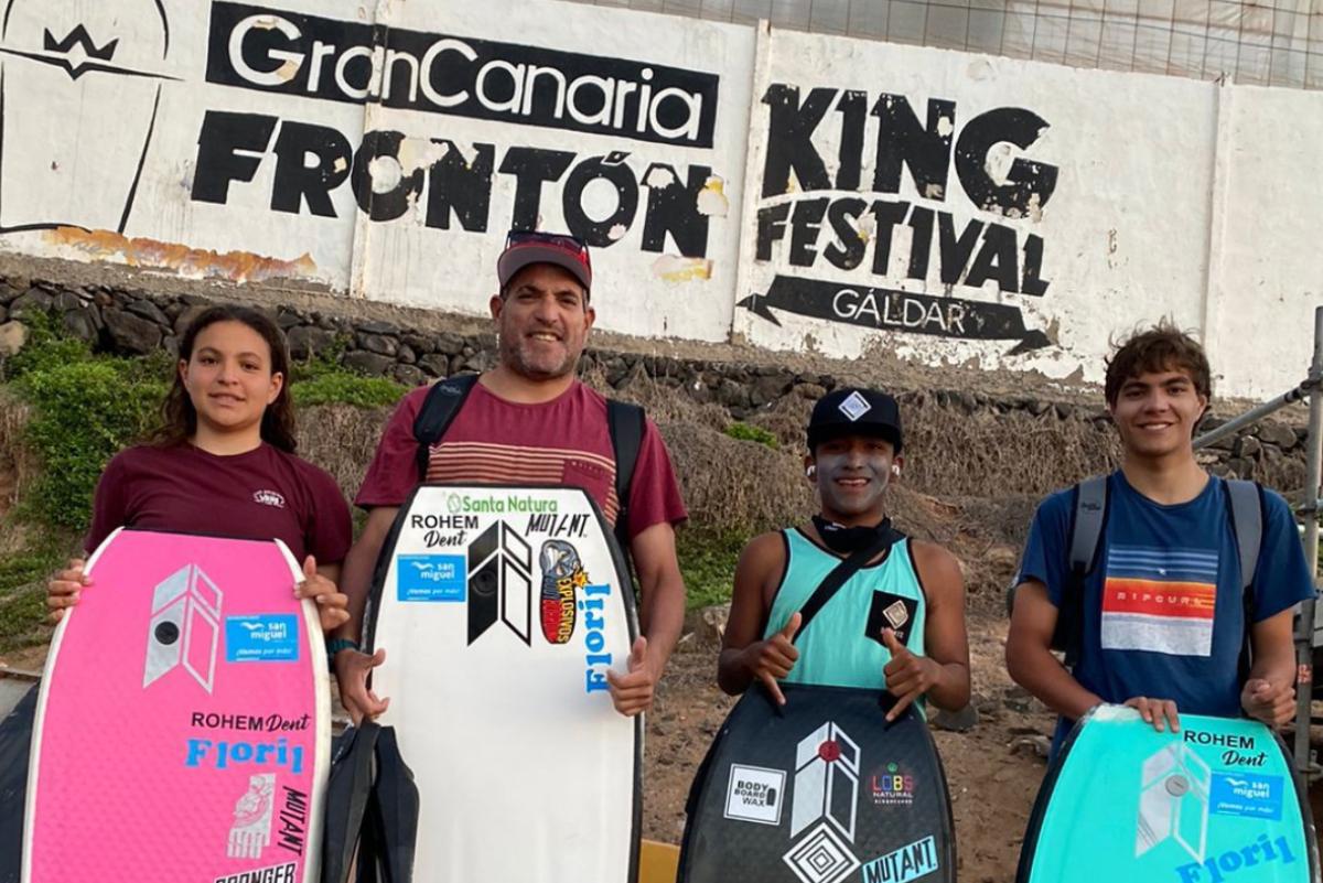 Selección Nacional de Bodyboard lista para representarnos en el mundial de España en el Frontón – Gran Canaria