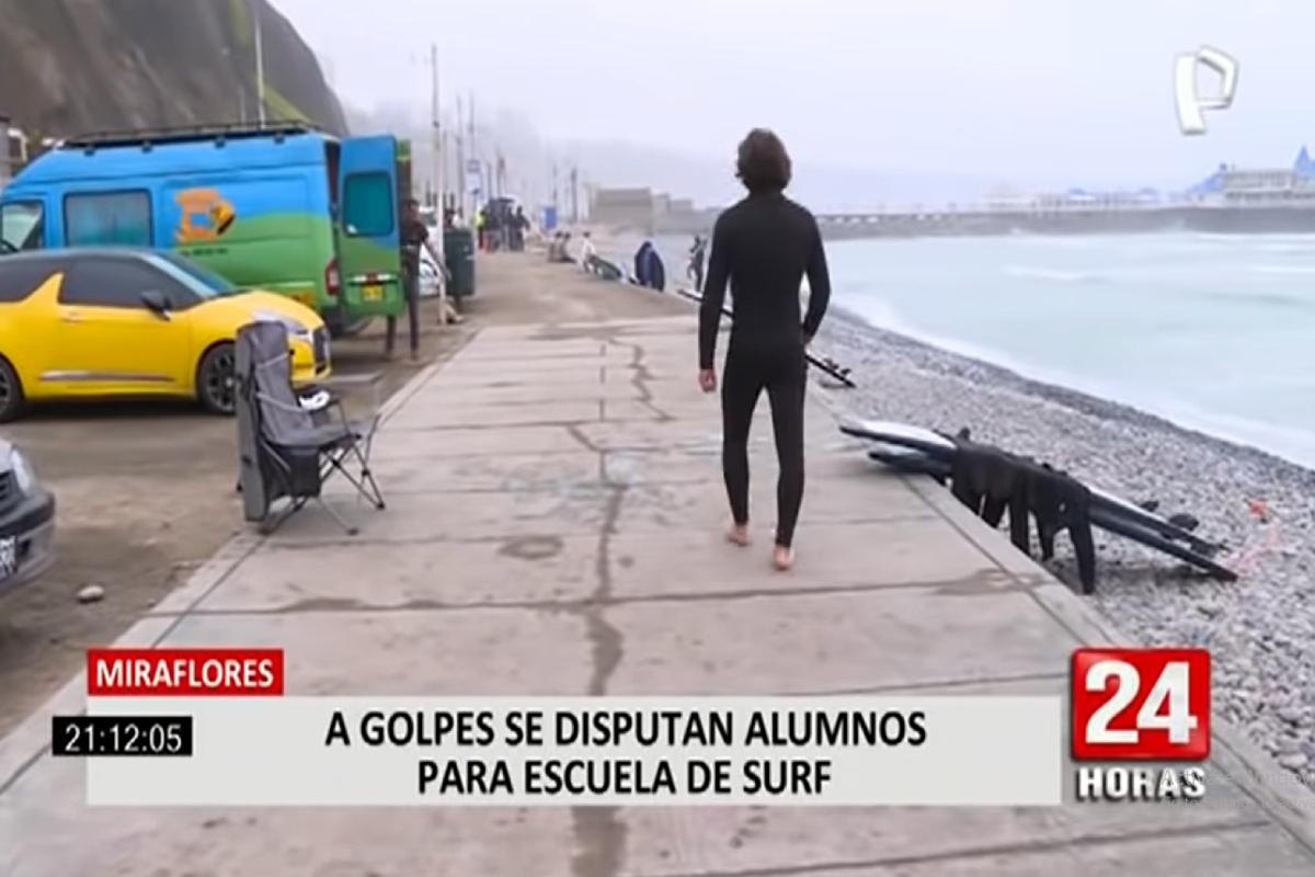 ¿Escuelas de tabla en disputa por playa Makaha?