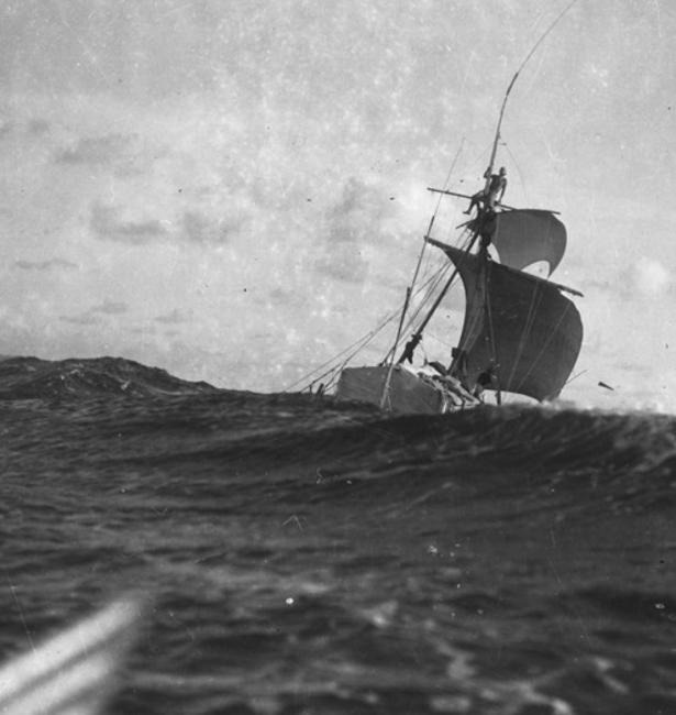 Kon-Tiki la balsa que llegó a la Polinesia desde el Perú