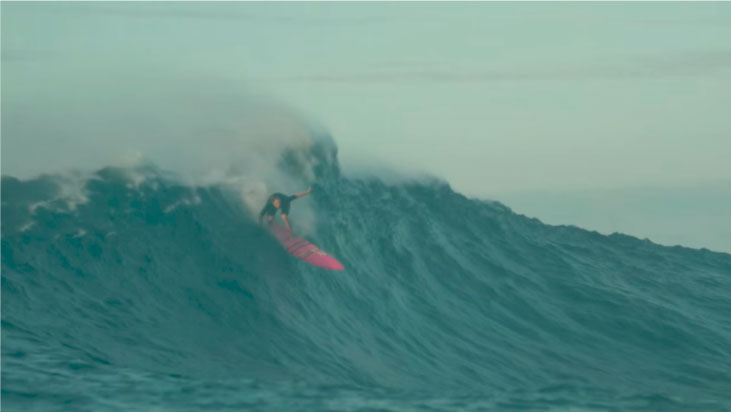 The Wave I Ride: el documental de olas grandes solo para mujeres