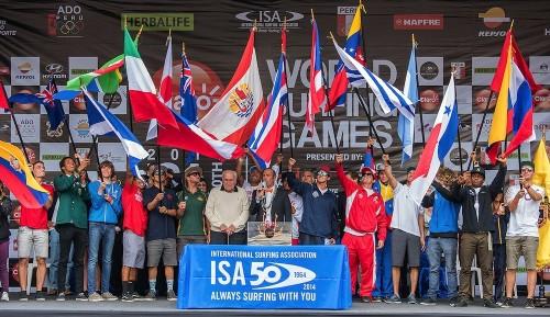La ISA está encantada con la decisión de la COI de apoyar el surfing en los Juegos Olímpicos de Tokio 2020.