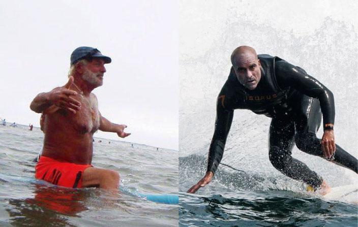 """Los famosos chaplines del surfing Peruano #2: Renzo """"El Faraón"""" Zazzali y Ricardo """"Doc"""" García"""