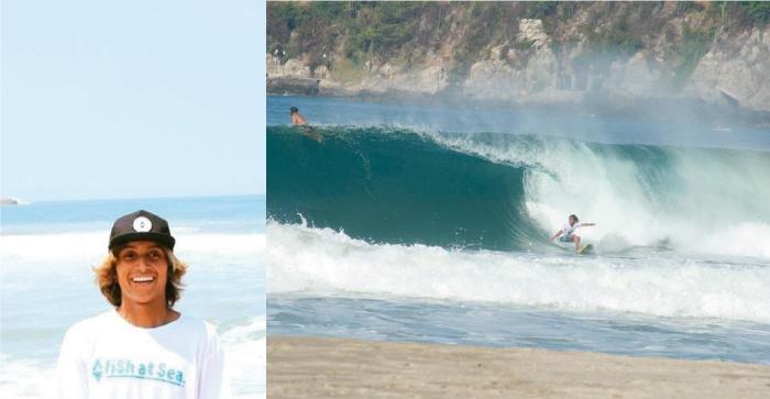 Promesa del surf mexicano es encontrado sin vida en piscina de hotel
