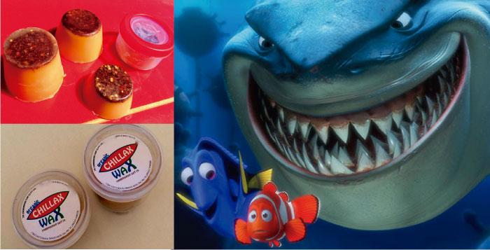 Industria: CHILLAX WAX  la cera que sirve como repelente para tiburones