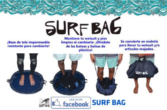 SURF BAG made in Perú