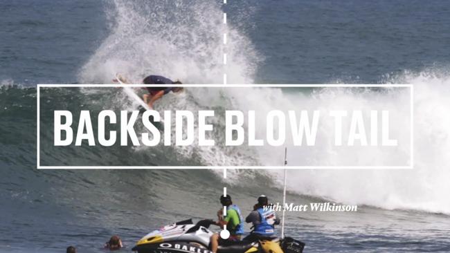 Session Notes con Matt Wilkinson y su Backside Blowtail