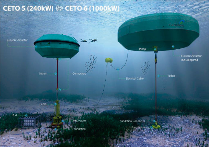La energía renovable gracias a la fuerza de las olas