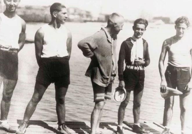 Los tablistas de Barranco en 1920