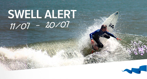 SWELL ALERT ! Gracias a Chicama Surf Resort recibimos alerta de 2 increíbles crecidas