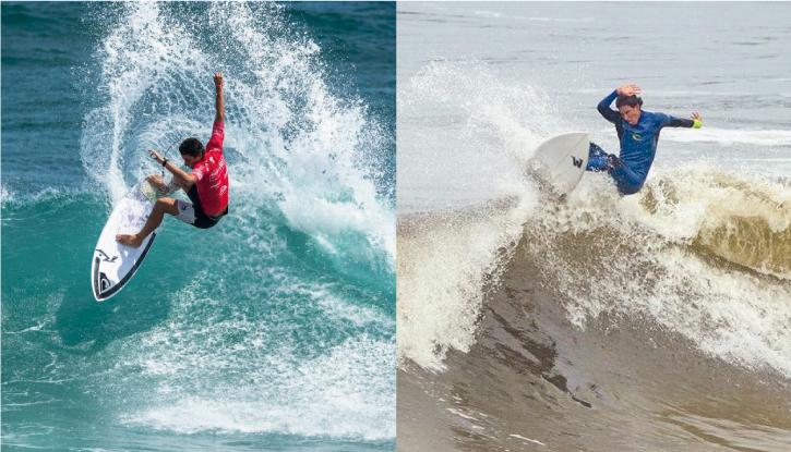Lucas Mesinas y Jeanpierre Ballesteros estarán en el Vans Surf Open de Acapulco