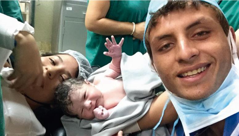 Bienvenido Luciano, el primogénito de Luis Eduardo Escudero