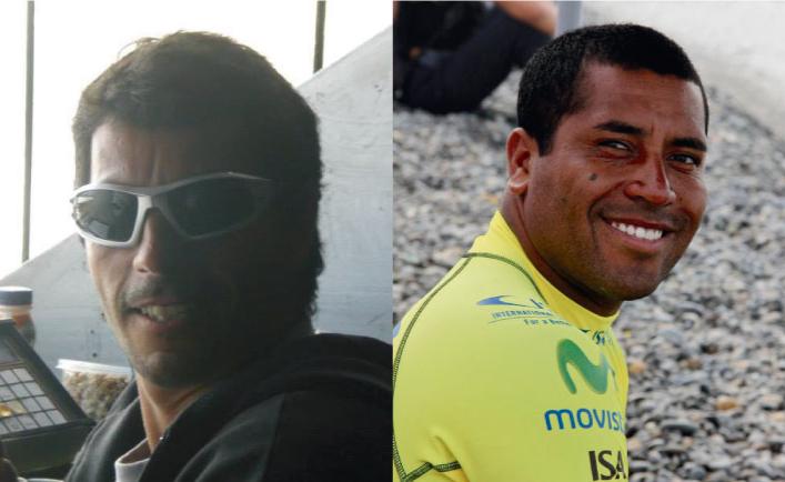 """Los famosos chaplines del surfing Peruano #3: José  """"Jarita"""" Gómez y """"Chato Pico"""""""