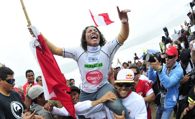 Analí Gómez recuerda con orgullo su heroico campeonato mundial ISA 2014