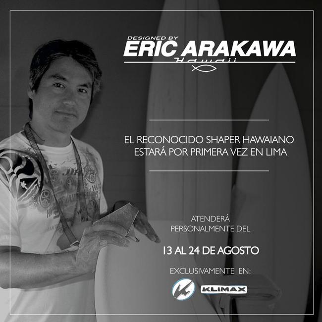 Erick Arakawa en Lima