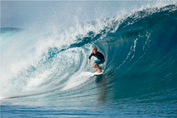 4 Juniors recontra surfers para seguir en Instagram
