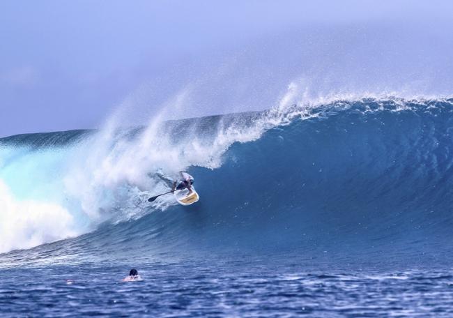 Cloudbreak recibirá a los mejores SUPers en el Fiji ISA World SUP and Paddleboard Championship