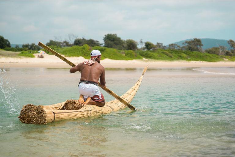 Caballito de Totora se exhibirá durante el Quiksilver Pro Gold Coast