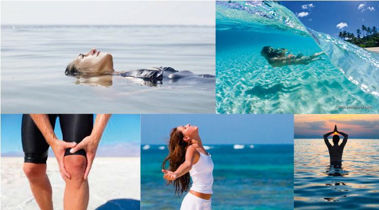 4 propiedades curativas del agua de mar