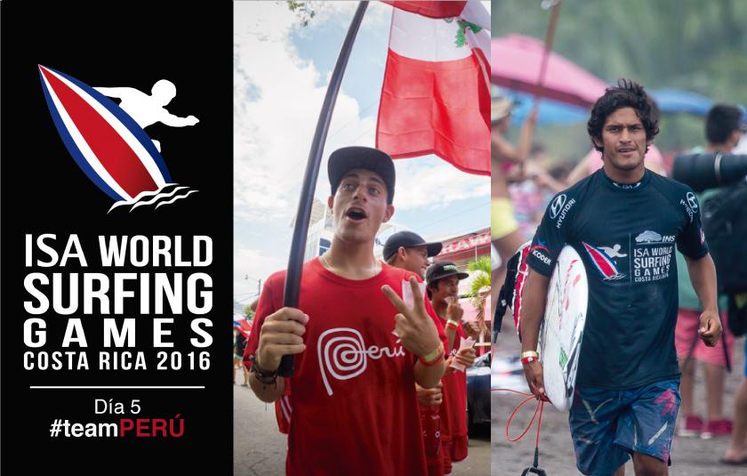 Perú sufre sus primeras bajas en el mundial de Surf en Costa Rica