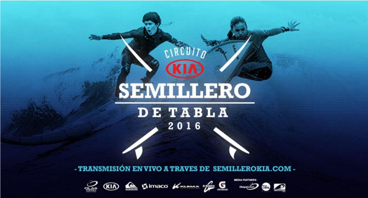 Conferencia de prensa - Circuito Kia Semillero de Tabla 2016