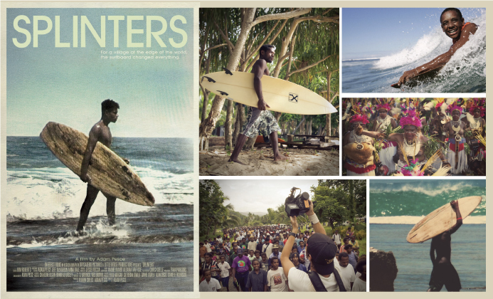 SPLINTERS: La evolución del surf indígena en Nueva Guinea