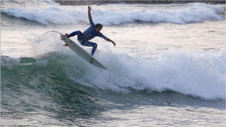 Mira cómo practican sus aéreos  los chicos del Proyecto Sofía Mulanovich en Australia