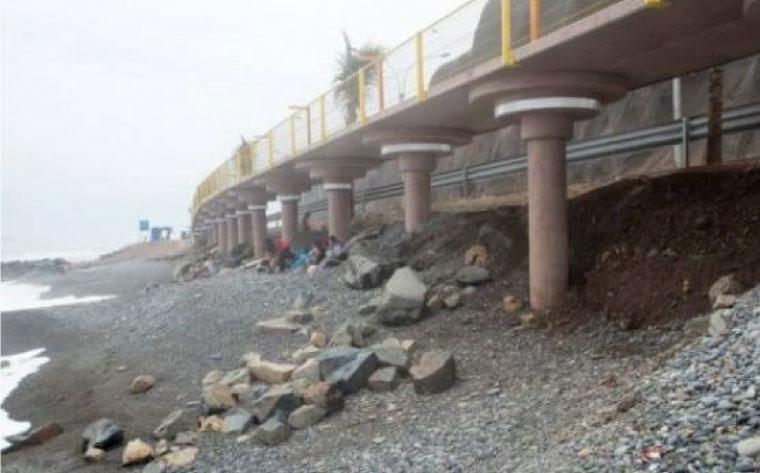 Costa Verde: continúan los problemas en playa La Pampilla por erosiones y piedras