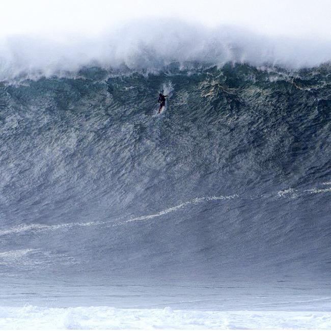 Miguel Tudela: No sabía qué hacer, si tirar la tabla o pasar la ola por encima