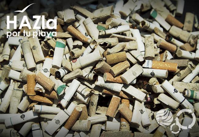 El último fin de semana se recogieron más de 20 mil colillas de cigarros en playas de Perú