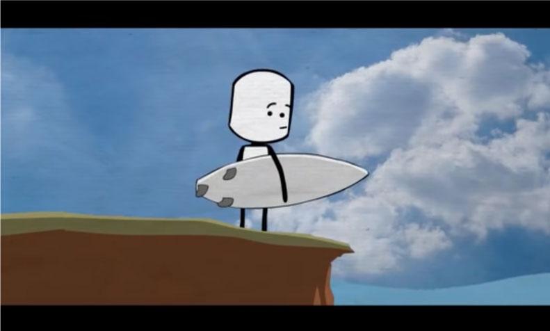 Este video te explicará por qué el surfing es tan parecido al proceso de la vida