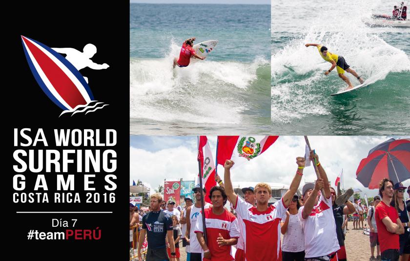 Perú y Portugal definen mañana al campeón mundial ISA 2016