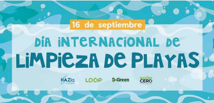 Este 16 de septiembre Día Internacional de Limpieza de Playas
