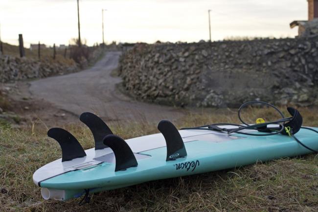 Jetson, la tabla con motor incorporado ahora en su nueva versión para olas grandes