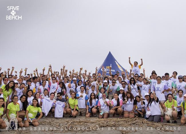 La 2da edición del Save The Beach en playa Mamacona recolectó más de 750 kilos de basura