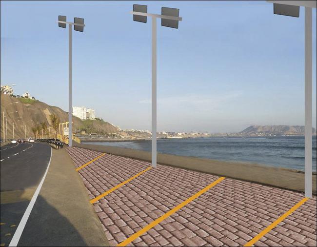 La Pampilla y Punta Roquitas tendrán iluminación LED para surfear de noche
