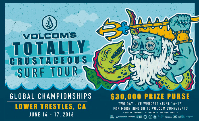 Series de los peruanos en el Totally Crustaceous Tour de Volcom