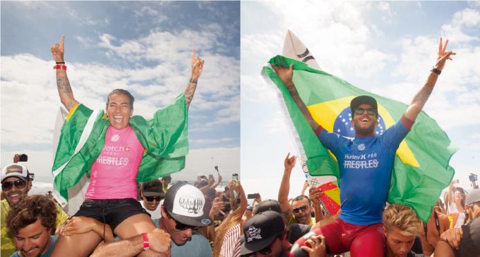 Brasil se hace fuerte en California y se apodera del Pro Trestles