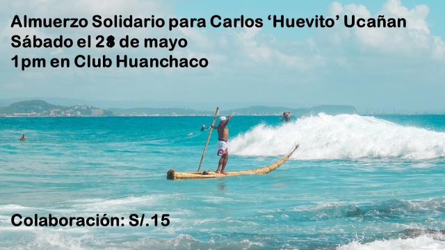 Atención Trujillo, almuerzo en apoyo a nuestro Huevito Ucañan
