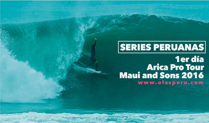 Series de los peruanos en el Maui And Sons Arica Pro Tour