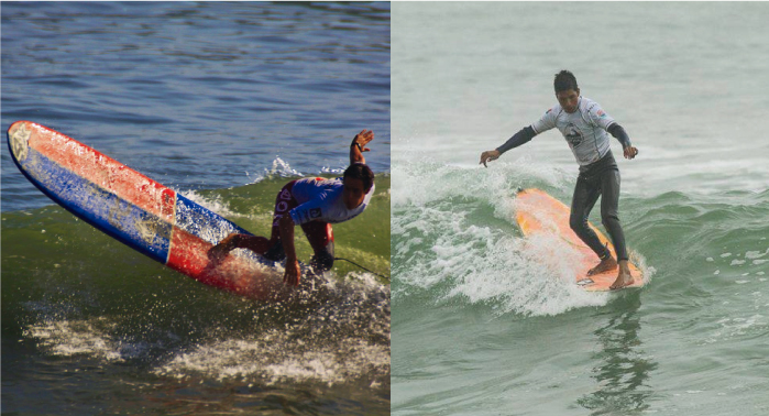 Jorge Vílchez y Lucas Garrido Lecca disputarán mañana la gran final de longboard en Nicaragua