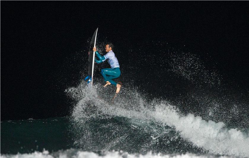 Surf Nocturno en San Bartolo