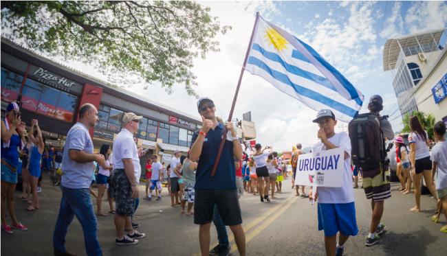 ¿Qué pasó con la selección uruguaya de surf en el reciente mundial ISA?