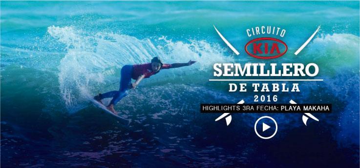 HIGHLIGHTS SEMILLERO KIA / 3ra fecha / Playa Makaha