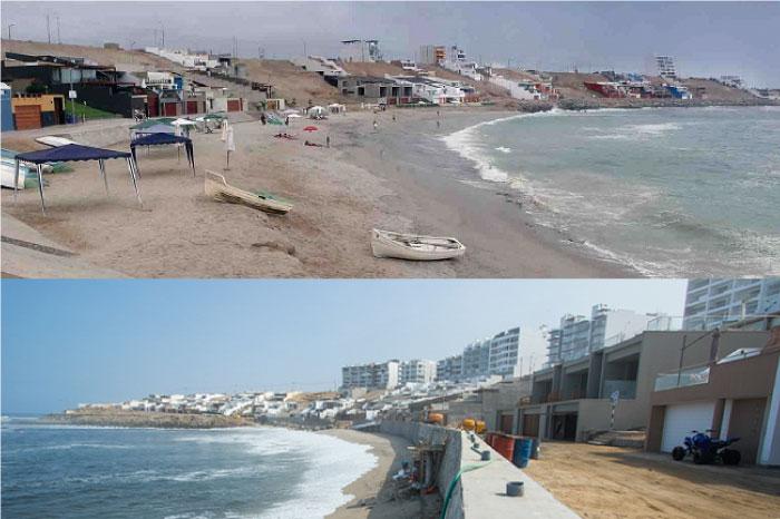 Concluye la obra del muro de protección en Playa Caballeros