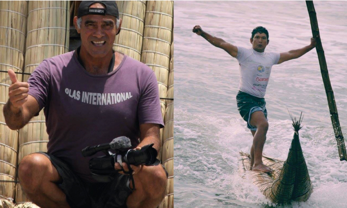 """Los famosos chaplines del surfing peruano #4: Raúl """"Patero"""" Calle y """"Huevito"""" Ucañán"""