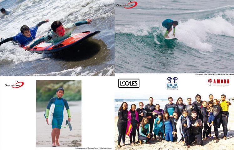 """""""Desafío Lima"""" proyecto que pretende potenciar el surf adaptado en el Perú"""