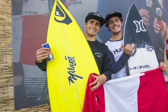 Tudela y Correa finalizan terceros en El Gringo