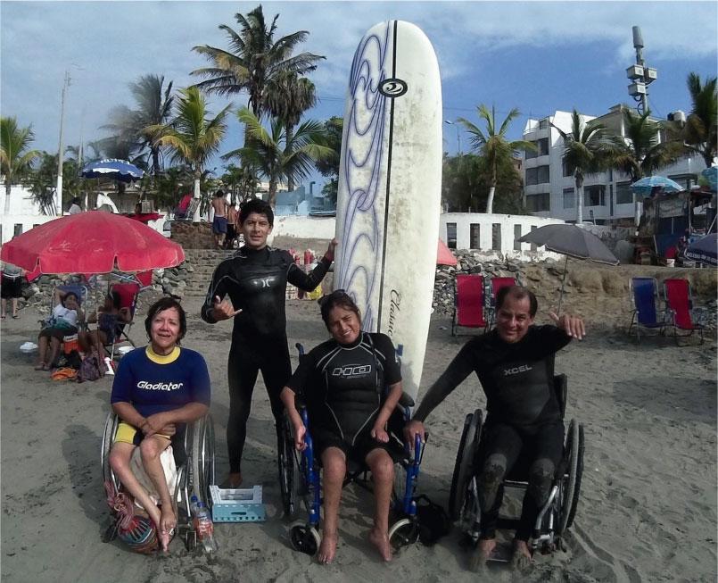 Inspiration Surf School, la primera escuela de surf adaptado de Huanchaco