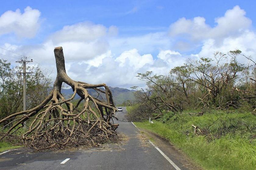 Fiji en estado de emergencia por el Ciclón Winston