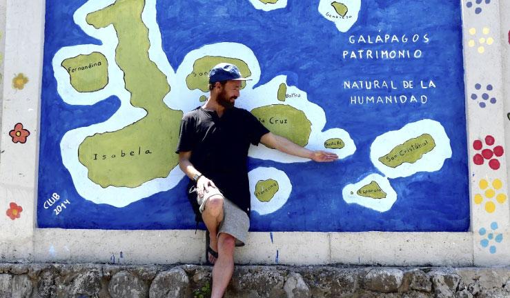 """Kepa Acero y su primera vez en Galápagos: """"Harmonía y Sostenibilidad"""""""
